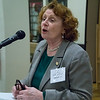 NY Assembly member, Jo Anne Simon greeted the event and lauded BFP for its work in resisting the Trump agenda and acting against war.