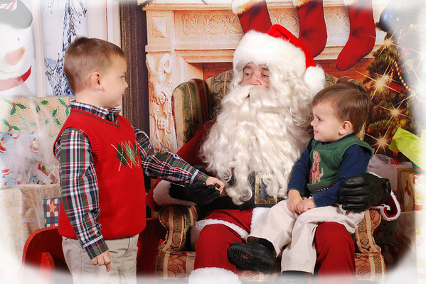 BFUMC Breakfast with Santa 2010