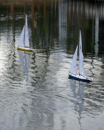 BG model boat regatta
