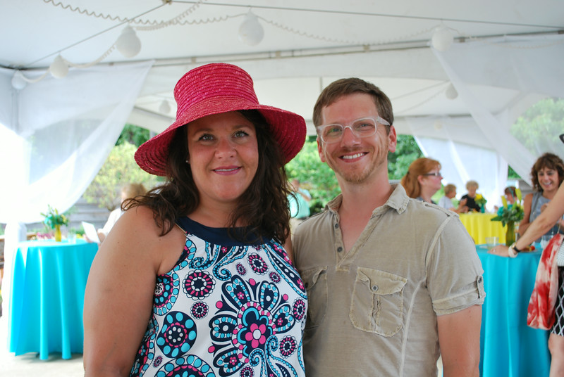 Kate Johnson and Peter Alumbaugh