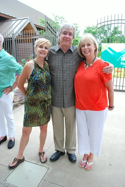 Elaine Teague, David Gay, Jo Martinson