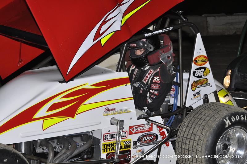 Bryan Gossel @ Black Hills Speedway 05-10-13