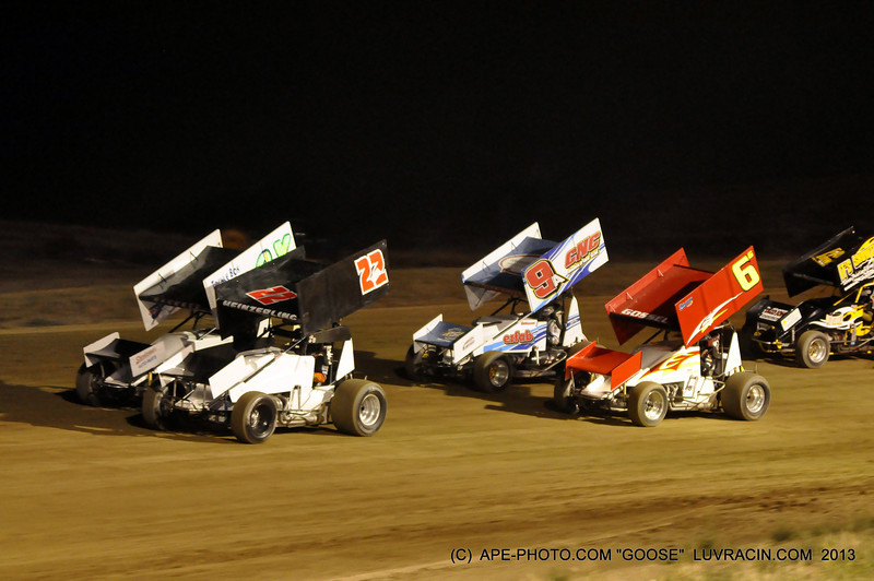 6 G GOSSEL, 9 A ANDERSON SECOND ROW WHO WILL BE LEADING GOING INTO TURN ONE ?