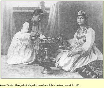 Djevojačka nošnja 1905. godine