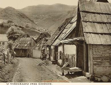 U Višegradu - 1926