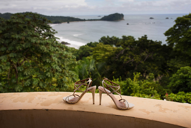 Villa Vigia wedding photography Manuel Antonio, Costa Rica