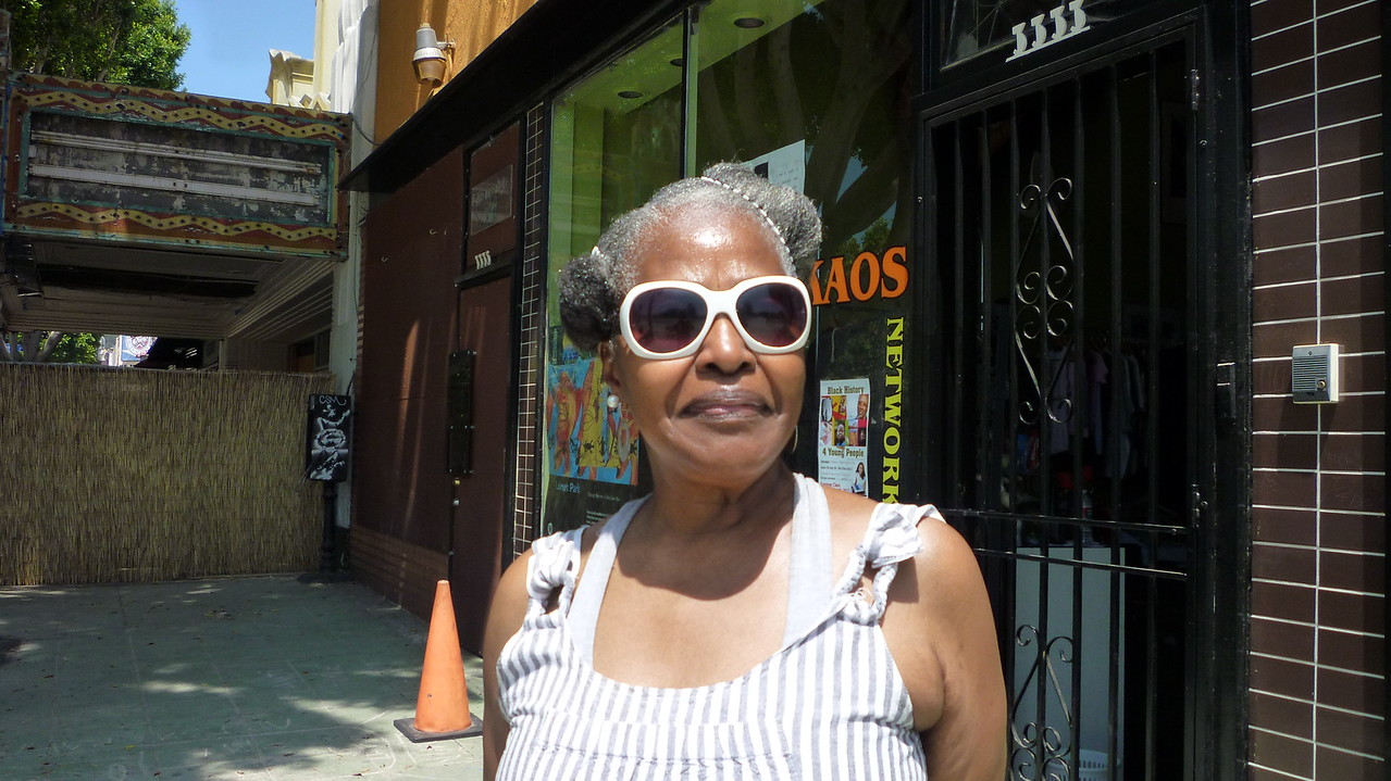 Ms. Etha Robinson of Mrs. Robinson's Tea Cake Fame.