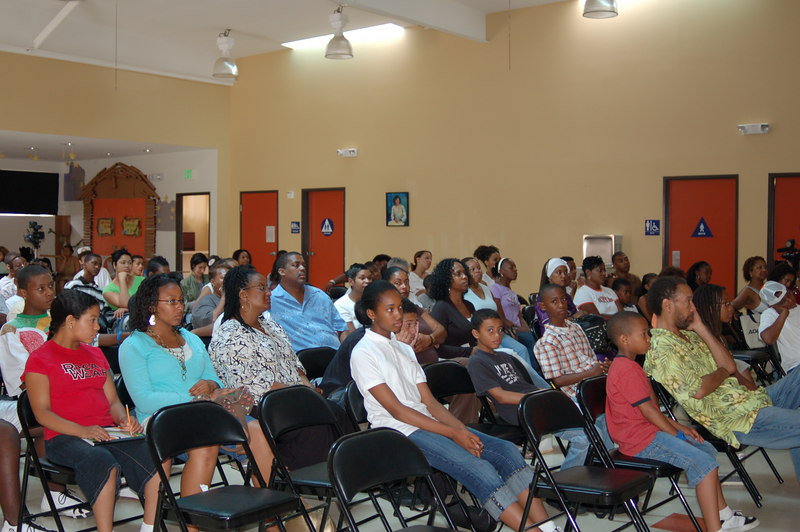 This was the last class when parents were invited to attend.