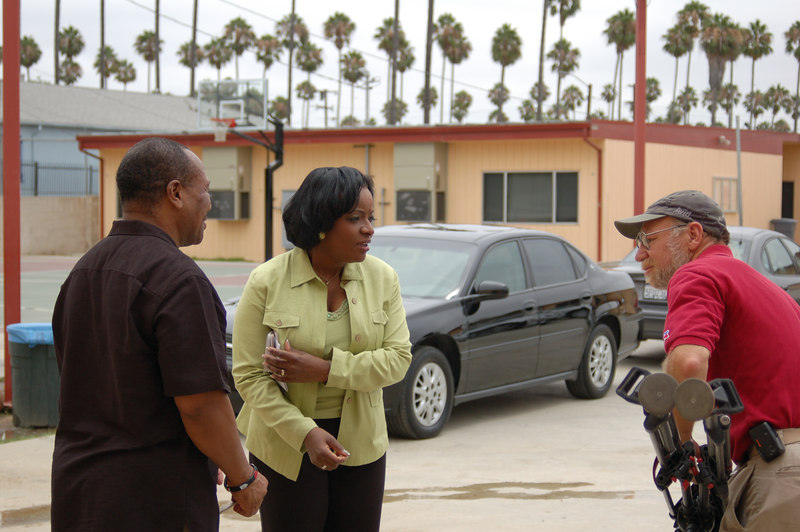 KNBC's Beverly White interviewed Dr. Kwaku about the class.