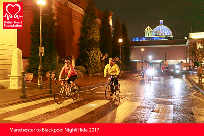 BHF Manchester to Blackpool Ride 2017
