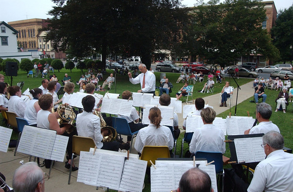 Eagles Band at Adams Town Common