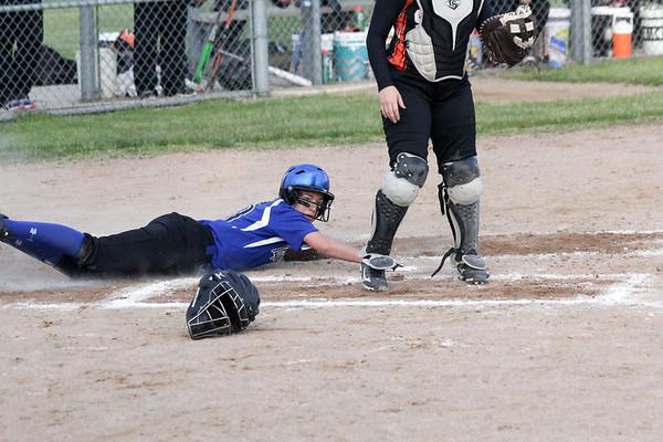 BHRV softball vs. Sheldon 5-25-17
