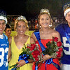 Will Fehlinger | The Herald-Tribune<br /> Homecoming 2018 royalty, crowned at halftime of Batesville-Lawrenceburg, are (from left) Prince Brayden Linkel, Princess Ellie Cassidy, Queen Caitlynn Werner and King Adam Bedel.