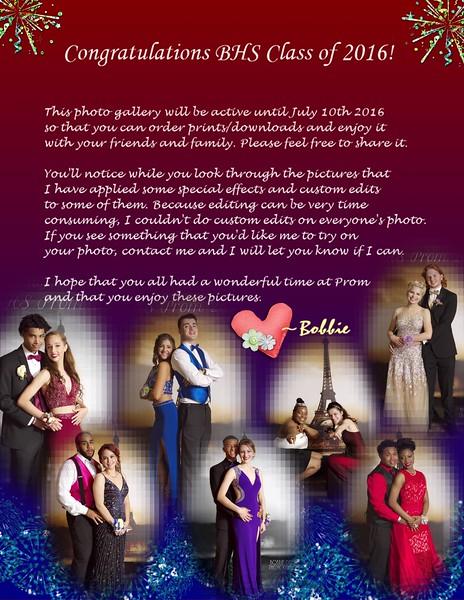 BHS Prom 2016