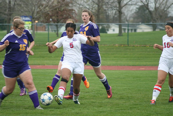 BHS Soccer at Lenawee Christian 4-29-16