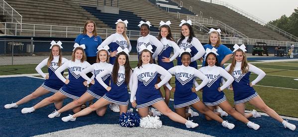 2018 BHS Varsity Cheerleading