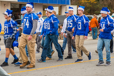 BHS in the 2016 Christmas Parade