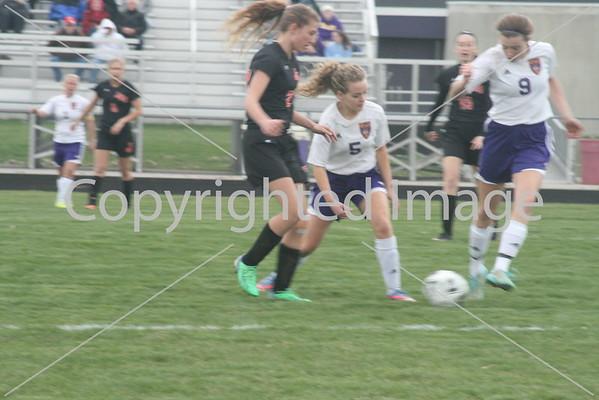 BHS soccer vs Jonesville 3-30-16