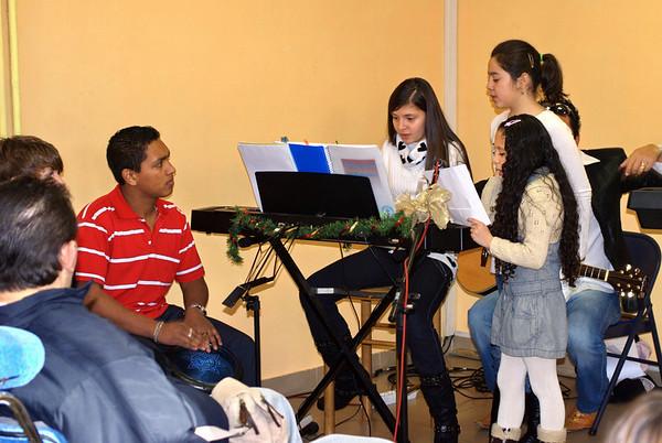 Navidad en la Iglesia  2008