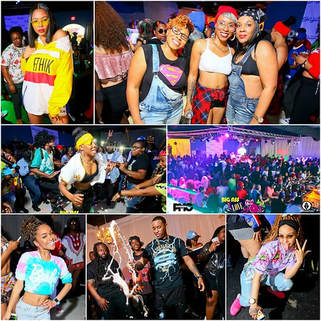 BIG ASS 90'S PARTY @ SKY LOUNGE GREENVILLE , SC