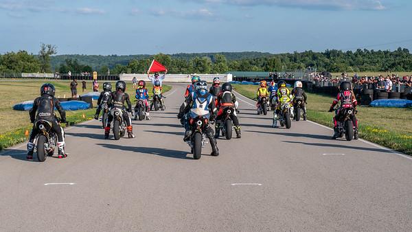 Pits, race start, misc photos Pitt 2020