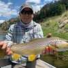 Eric George - photo: guide Stephan Caldwell. (Montana Water Outfitting and 406-465-6833)