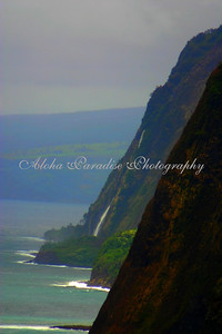 WATERFALL FROM POLOLU LOOKOUT