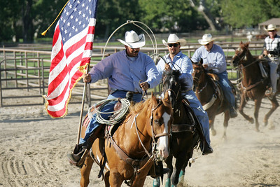 cowboys and cowgirls, at a ranch near Santa Barbara, California, USA