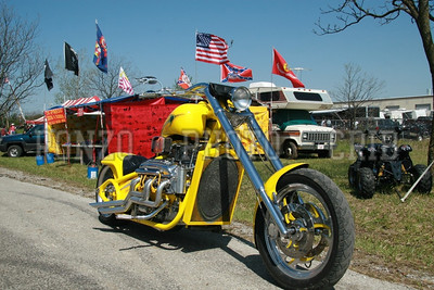 Choppers 4 Children Music Fest Bike Rally 2007 Near Senica MO -003