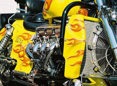 502 HORSEPOWER V8 SCOOTER Bikes, Blues & Bar B Que Fayetteville, AR 2005