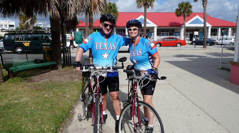 WE RODE FROM CHARLESTON TO SAVANNAH OVER THE COURSE OF THE WEEK, ABOUT 130 MILES.  MET A LOT OF NICE CYCLISTS ON THE TRIP.