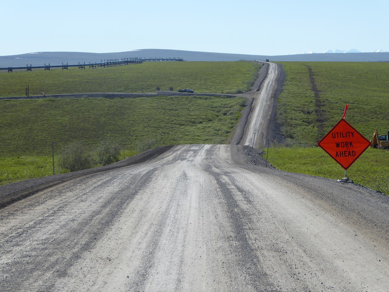 Road to Galbraith Lake