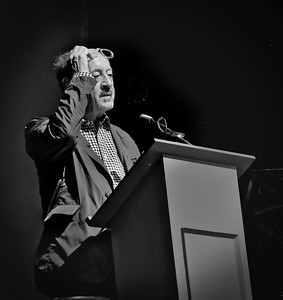 Billy Collins reading in Orillia