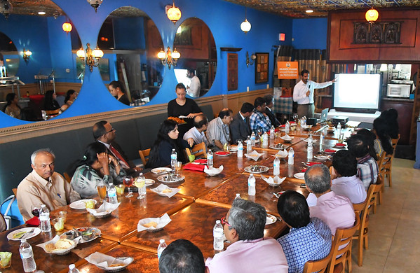 BIMDA Meeting at Taste of India n22