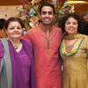 Gauri Rawal, Sundeep Rawal and Rashmi Shah  pose together for a photo during the BIMDA banquet and reception at the Hilton Melbourne Rialto. (Photo by Amanda Stratford, for FLORIDA TODAY)