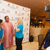 Jennifer Scott interviews Gobivenkata and Aparna Belaji during the BIMDA banquet and reception at the Hilton Melbourne Rialto. (Photo by Amanda Stratford, for FLORIDA TODAY)