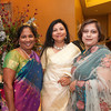 Aparna Kopuri, Kavita Das and Sue Mitra pose together for a photo during the BIMDA banquet and reception at the Hilton Melbourne Rialto. (Photo by Amanda Stratford, for FLORIDA TODAY)