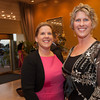 Anastasia Tutsie and Cindy Pearson pose together for a photo during the BIMDA banquet and reception at the Hilton Melbourne Rialto. (Photo by Amanda Stratford, for FLORIDA TODAY)