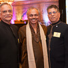 Jashbhai Patel, Rao Kopuri and Ashok Shah pose together for a photo during the BIMDA banquet and reception at the Hilton Melbourne Rialto. (Photo by Amanda Stratford, for FLORIDA TODAY)