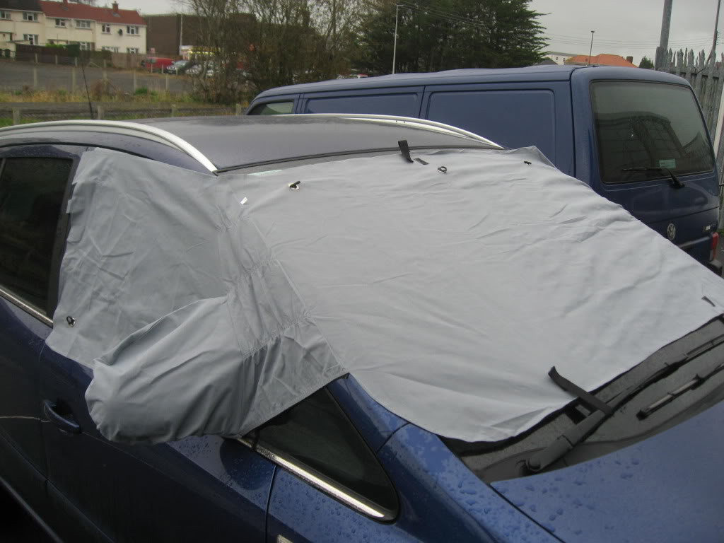 CAR ANTI FROST SNOW ICE  WINDSCREEN COVER PROTECTOR
