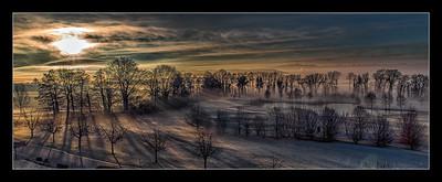 Frozen morning light .