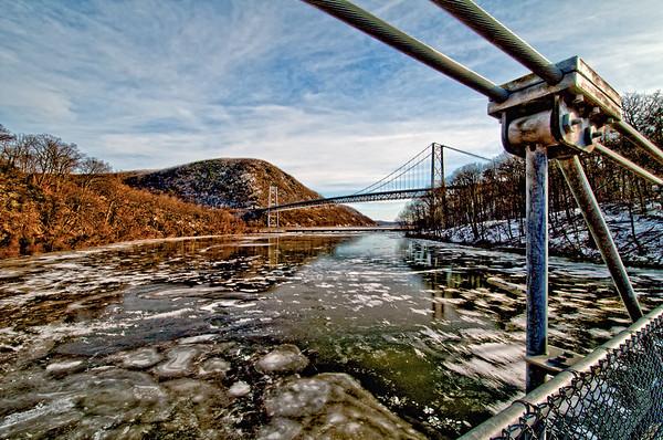 Hudson River near Fort Montgomery Bridge