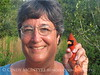 Cindy McIntyre and male cardinal, JIBS, Oct 2012 (3)