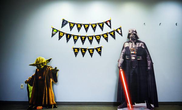 Star Wars Theme Birthday Party