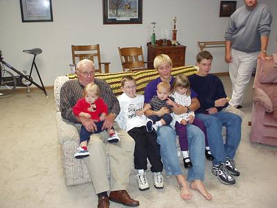 Charles and Grandkids
