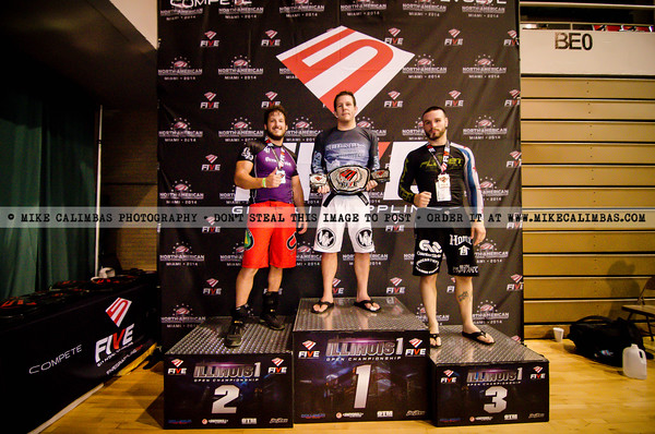 FIVE Grappling Illinois 1 - Podium Photos