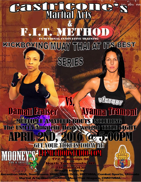 Castricones Kickboxing & Mauy Thai - April 2