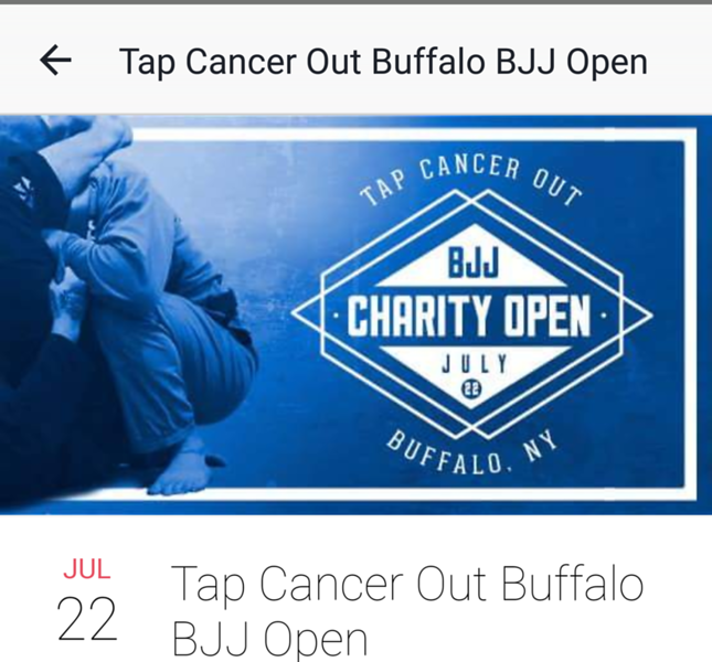 Tap Out Cancer