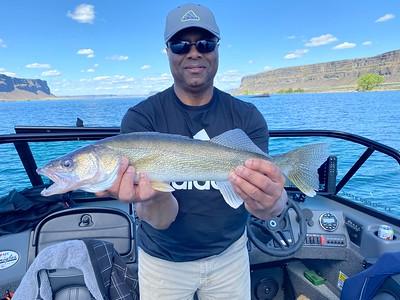 Glenn did well on Banks Lake.