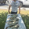 Frank caught these nice fish with BJ on Banks Lake.